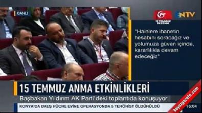 binali yildirim - Başbakan Yıldırım: En ağır cezayı alacaklar