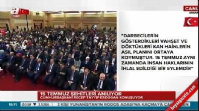 Cumhurbaşkanı Erdoğan: Türkiye hukuk devleti olmasaydı...