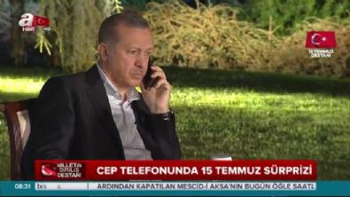 Telefon aramalarında Cumhurbaşkanı Erdoğan sürprizi