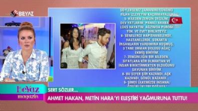 Ahmet Hakan, Metin Hara'yı eleştiri yağmuruna tuttu!
