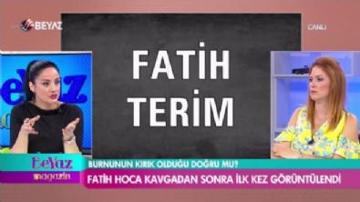 Fatih Terim, kavgadan sonra ilk kez görüntülendi!