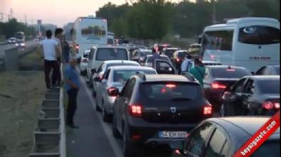 Adalet Yürüyüşü yoğun trafiğe neden oldu