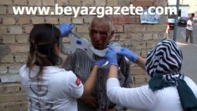 polis ekipleri - 77 yaşındaki adamı öldüresiye dövüp parasını gasp ettiler!
