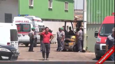 Adana'da kan donduran kaza