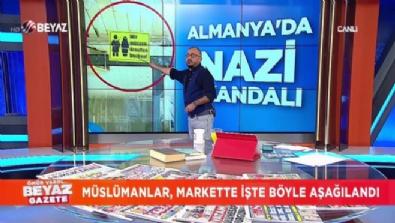 Almanya'da Müslümanlar'a çok ağır hakaret!