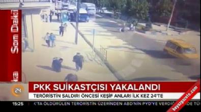 PKK'nın suikastçısı son anda yakalandı