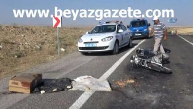 polis ekipleri - Aksaray'da feci kaza: 1 ölü