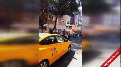Binlerce motosikletli Altın Elbiseli Adam'ı uğurladı