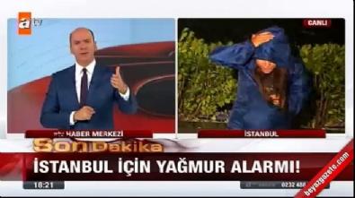 ATV Haber canlı yayınında zor anlar