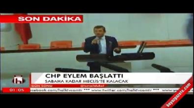 CHP sabaha kadar mecliste eylem yapacak!