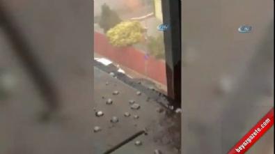 İstanbul'da beklenen yağmur dolu yağışıyla birlikte geldi