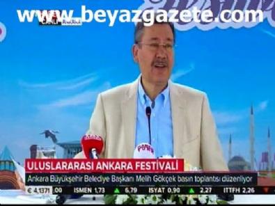 Başkan Melih Gökçek basın toplantısı düzenledi! (2017 Ankara Festivali)