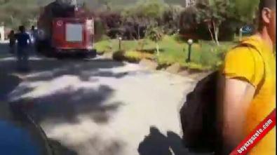 antalya - Antalya Kemer'de otel yangını