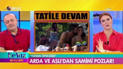 Arda Turan ile Aslıhan Doğan aşk tatilinde!