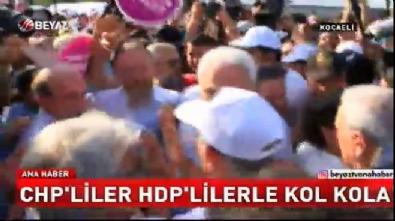 HDP - CHP kucaklaşmasına tepki