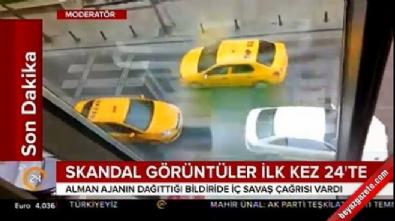 Takim Gezi Parkı'nda İç savaş çağrısı yapan bildiri böyle dağıtıldı