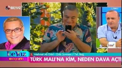 Mehmet Ali Erbil'den 'Türk Malı' açıklaması