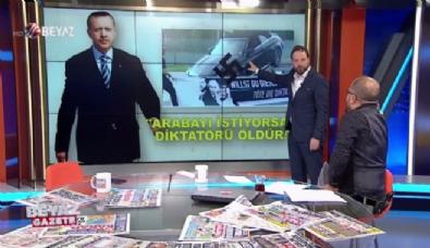Skandal pankart ''Erdoğan'a Suikast'' sinyali mi?