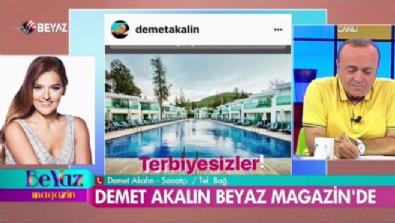 Demet Akalın'dan Beyaz Magazin'e samimi açıklamalar!