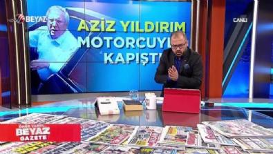 aziz yildirim - Aziz Yıldırım, trafikte motorcuyla kapıştı
