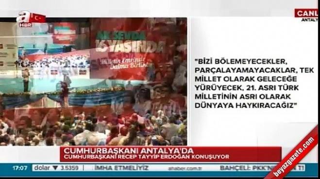 antalya - Erdoğan, Eren Bülbül'ün annesiyle yaptığı görüşmeyi açıkladı