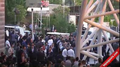 AK Parti'nin kuruluşunun 16. yıl dönümü - Cumhurbaşkanı Erdoğan'ın gelişi