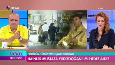 Mustafa Yıldızdoğan ''Ölürüm Türkiyem'' çalıntı iddialarına Beyaz Magazin'de yanıt verdi