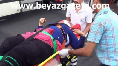 polis ekipleri - Hafif ticari araç tıra arkadan çarptı: 4 ölü, 1 yaralı