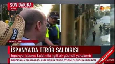 Barcelona saldırganlarından biri yakalandı