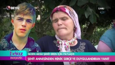 Eren Bülbül'ün annesinden Sezen Aksu'ya cevap