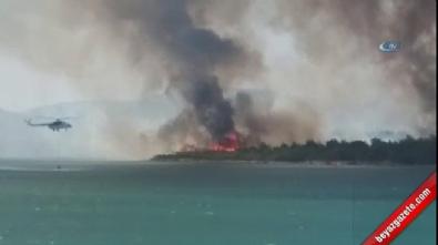 Türkiye'nin gözde turizm bölgesi yanıyor
