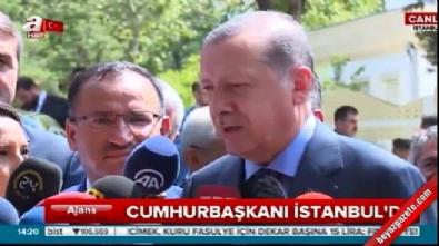 Erdoğan'dan Almanya'daki Türklere çağrı: Sakın bunlara oy vermeyin