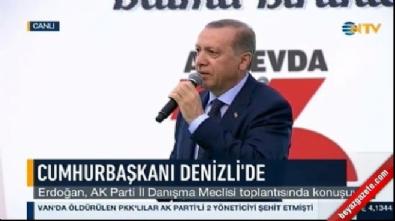 Cumhurbaşkanı Erdoğan'dan Şişli ve İzmir açıklaması