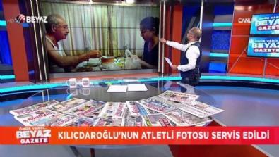 Kılıçdaroğlu'nun atletli fotosunun anlamı ne?