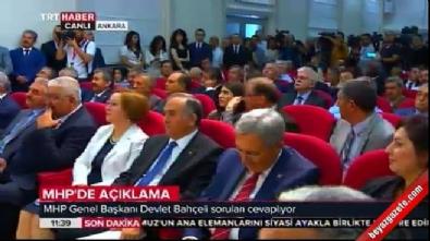Devlet Bahçeli: Koray Aydın'ın istifası bizim için hayırlı oldu