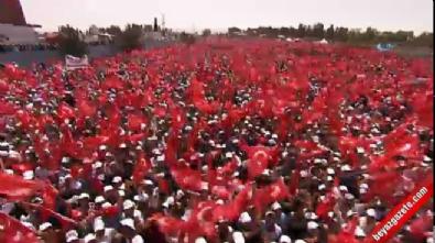 Cumhurbaşkanı Erdoğan Malazgirt'te