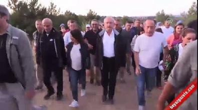 Kılıçdaroğlu, 57. Alay'a Saygı Yürüyüşü'ne katıldı