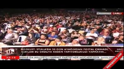 CHP'li Hüsnü Bozkurt yine aynı sözlerle tehdit etti