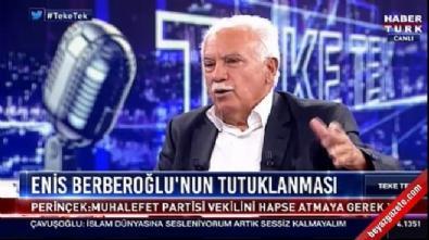 Doğru Perinçek: Demirtaş'ın tutukluluğu çok doğru