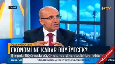 Mehmet Şimşek: Büyüme en az yüzde 5 olur