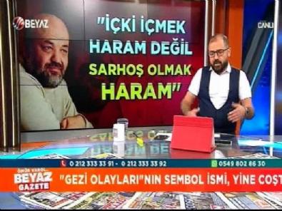'İçki içmek haram değildir' diyen İhsan Eliaçık'a canlı yayında tokat gibi cevap!