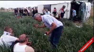Amasya'da otobüs kazası: 5 ölü, 40 yaralı
