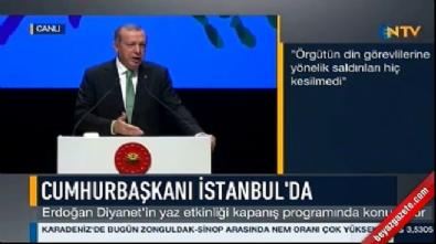 Cumhurbaşkanı Erdoğan'dan Diyanet'e FETÖ eleştirisi: Geç kalındı