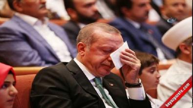 Cumhurbaşkanı Erdoğan, o mektup karşısında gözyaşlarını tutamadı