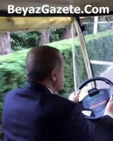 instagram - Cumhurbaşkanı Erdoğan golf arabası kullandı!