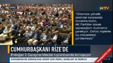 Cumhurbaşkanı Erdoğan: Defolu olanlarla yüreyemeyiz