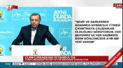 chp - Cumhurbaşkanı Erdoğan'dan CHP'ye tepki
