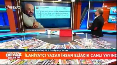 'İçki içmek haram değildir' diyen İhsan Eliaçık canlı yayında nasıl köşeye sıkıştı