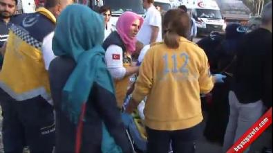 Ankara'da yolcu otobüsü tıra çarptı