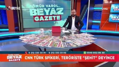 CNN Türk'te büyük skandal! PKK'lı terörist için ''Şehit'' dedi